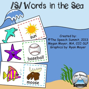 "Articulation S: ""S Words in the Sea"""