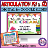 Articulation S and Z in All Positions Plus BLENDS We All Scream for Ice Cream