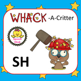 Articulation /SH/ Speech Therapy Whack-A-Critter Cards