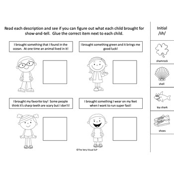 Articulation SH and CH Speech Therapy Adapted Book & Activities!