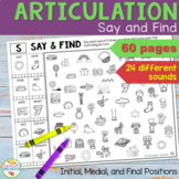 Articulation Say and Find