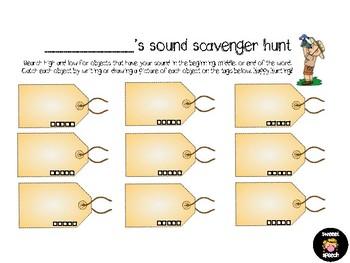 Articulation Scavenger Hunt