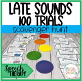 Articulation Scavenger Hunt - 100 Trials