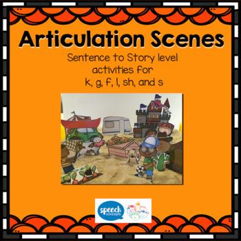 Articulation Scenes- Sound loaded Scenes