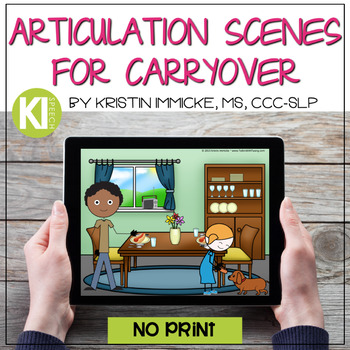 Sound Loaded Articulation Scenes for Carryover Practice