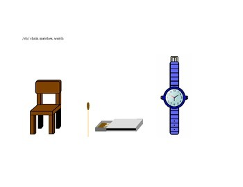 Articulation Screener Pictures