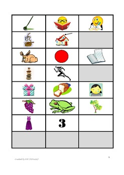 Articulation Screener for Speech Therapy & RTI - R Sound Initial  & Vowel + R