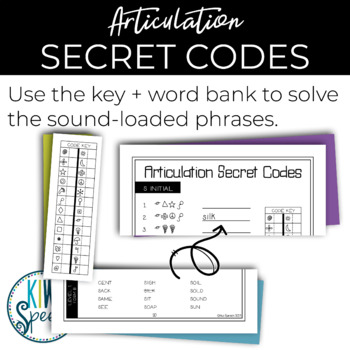 Articulation Secret Codes (NO-PREP)