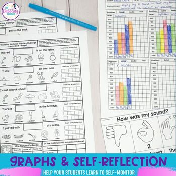 Articulation Sentence Challenge Sheets
