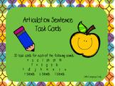 Articulation Sentence Task Cards Bundle!