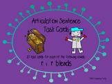 Articulation Sentence Task Cards: /r/ and /r/ blends