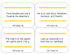 Articulation Sentence Task Cards: /s/ and /z/