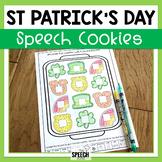 Articulation St. Patrick's Day Speech Cookies