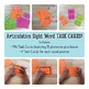 Articulation Sight Word Task Cards