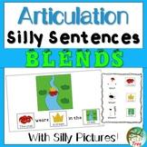 Articulation Silly Sentences Blends