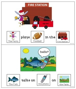 Articulation Silly Sentences F and V