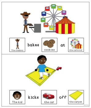 Articulation Silly Sentences K and G