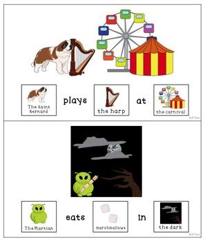 Articulation Silly Sentences Vocalic R - AR Free