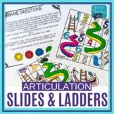 Articulation Slides and Ladders Board Game