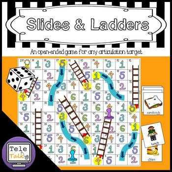 Articulation Slides & Ladders: An Open-Ended Game For Any