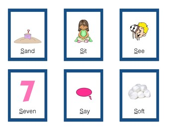 Articulation Small Talk S Cards