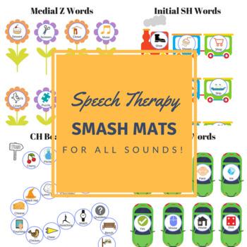 Articulation Smash Mats - For ALL sounds!