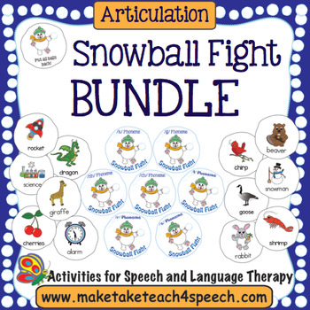 Articulation -  Snowball Fight Bundle