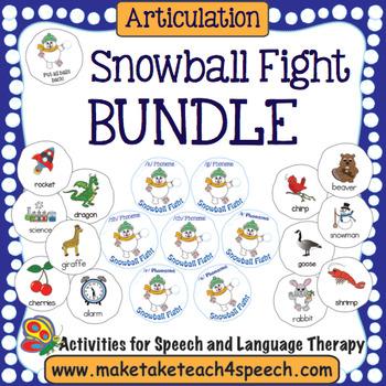 Articulation -  Snowball Fight Bundle