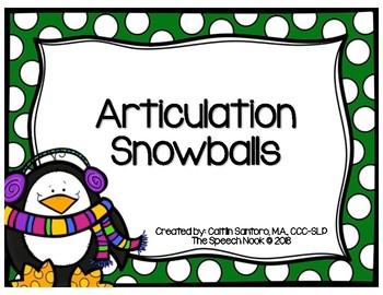 Articulation Snowballs