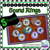Articulation Sound Rings: S Blends (sp, st, sn, sm, sk, sw)