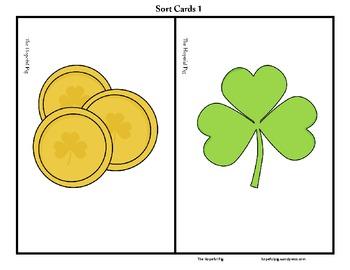 St. Patrick's Day Articulation Sort: /k,g/ Sounds