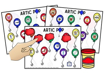 ARTIC Pop! Speech Therapy FREEBIE