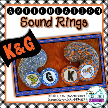 Articulation Sound Rings: K and G