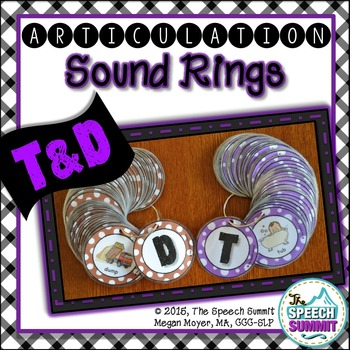 Articulation Sound Rings: T and D