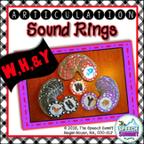 Articulation Sound Rings: W, H, and Y