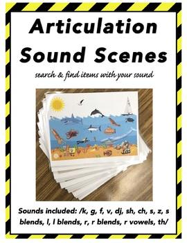 Articulation Sound Scenes