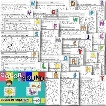 Articulation: Speech Sound in Isolation Bundle