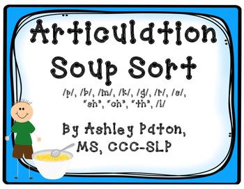 Articulation Soup Sort