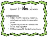 Articulation: Spanish S-Blend words