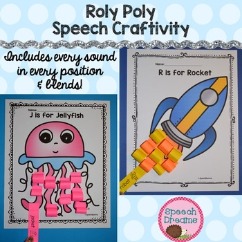 Articulation Speech Therapy Crafts
