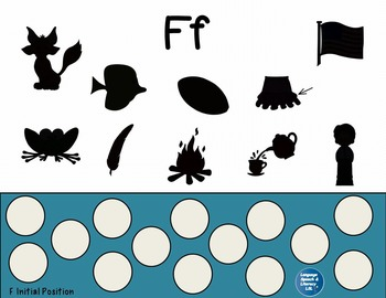 Speech Spots for Articulation of F