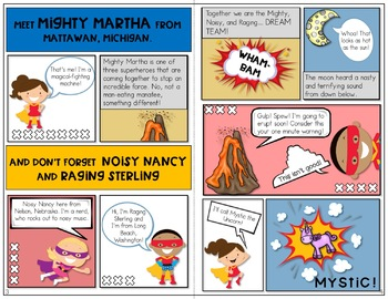 Articulation Activities and Comic Book: Speech Therapy (/m/, /n/, and /ng/)
