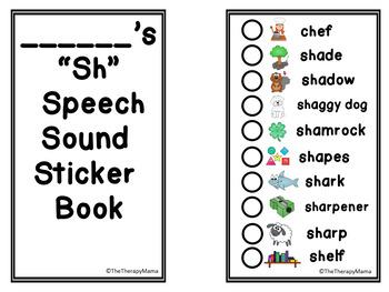 Articulation Sticker Book Sh