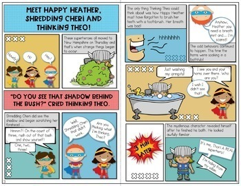 Articulation Activities and Comic Book: Speech Therapy (sh, th and h)