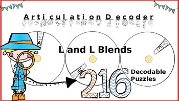 Articulation Spin and Decode: L and L Blends; Print-N-Go