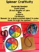 Articulation Spinner Speech Craft {therapy craftivities}