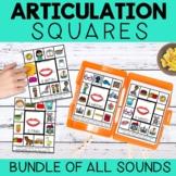 Articulation Squares - BUNDLE