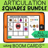 Articulation Boom Cards Squares BUNDLE
