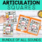Articulation Squares for Speech Therapy BUNDLE