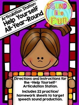 Articulation Station: Help Yourself All-Year-Round